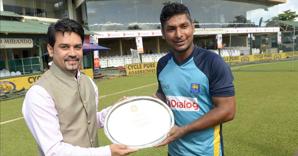 Kumar felicitated by BCCI in his farewell Test